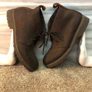 Brown Lugz boots